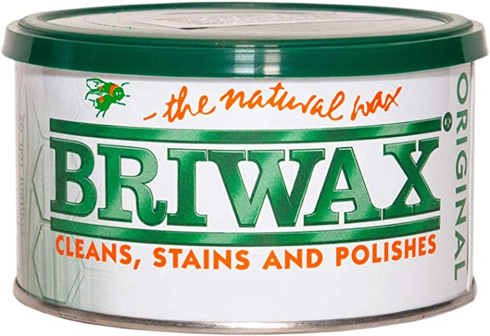 Briwax Mid Brown (previously Dark Oak) Furniture Wax Polish, Cleans, stains, and polishes.