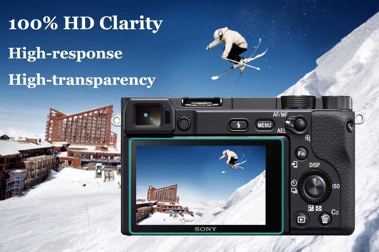 3Pack X-T2 X-T1 Screen Protector for Fujifilm X-T2 X-T1 Fuji Film XT2 XT1 Digital Camera with Hot Shoe Cover ULBTER 0.3mm 9H Hardness Tempered Glass Flim Anti-Scrach Anti-Fingerprint Anti-Bubble