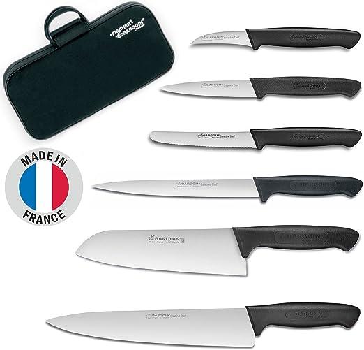 Compra Fischer-Bargoin Set de Cuchillos de Cocina de 6 Piezas ...