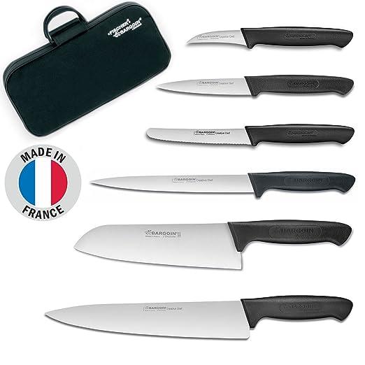 Compra Fischer-Bargoin Set de Cuchillos de Cocina de 6 ...