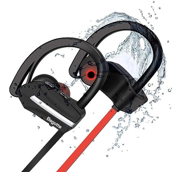 Auriculares Bluetooth Deportivos, Bagotte In-Ear Auriculares ...