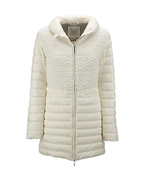 Geox - Abrigo - para mujer blanco Size: 52: Amazon.es: Zapatos y complementos