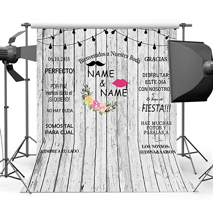 Mehofoto Custom Wedding Ceremony Photocall Backdrop Fondo de ...