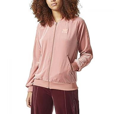 c979696ec016 adidas Originals Women Velvet Vibes Superstar SST Track Jacket (M (US 8))