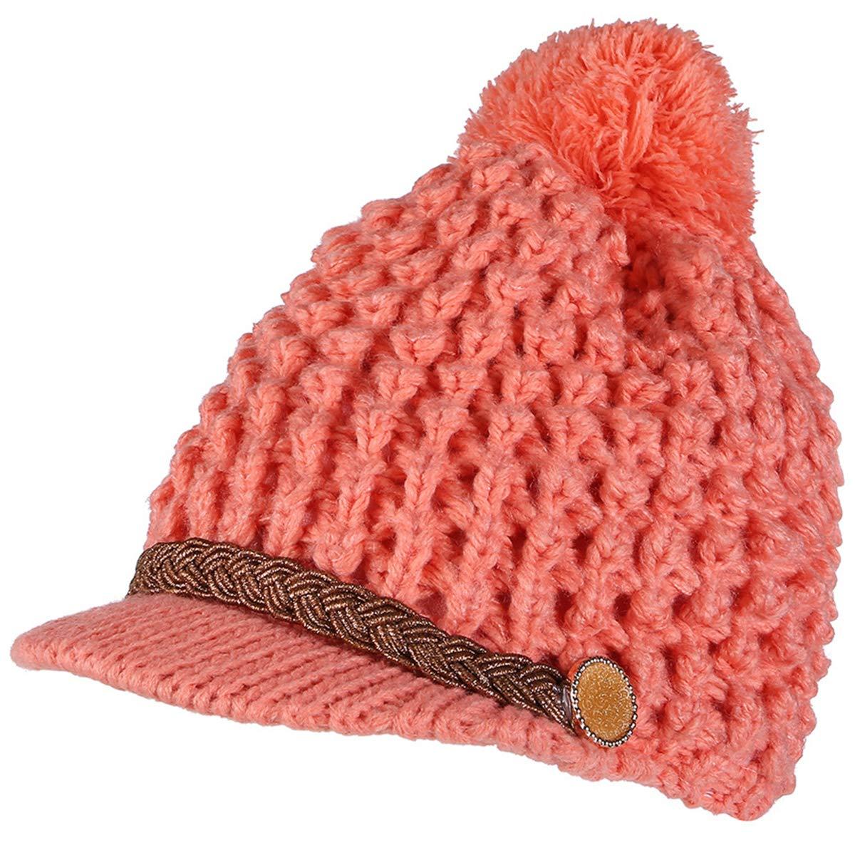 iSpchen Sombrero de Punto, otoño e Invierno, Sombrero de Lana para ...