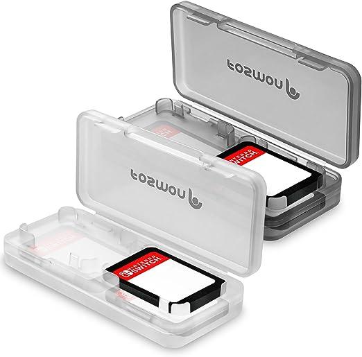 Fosmon Nintendo Switch - Estuche para Tarjetas (2 Unidades), 4 ...