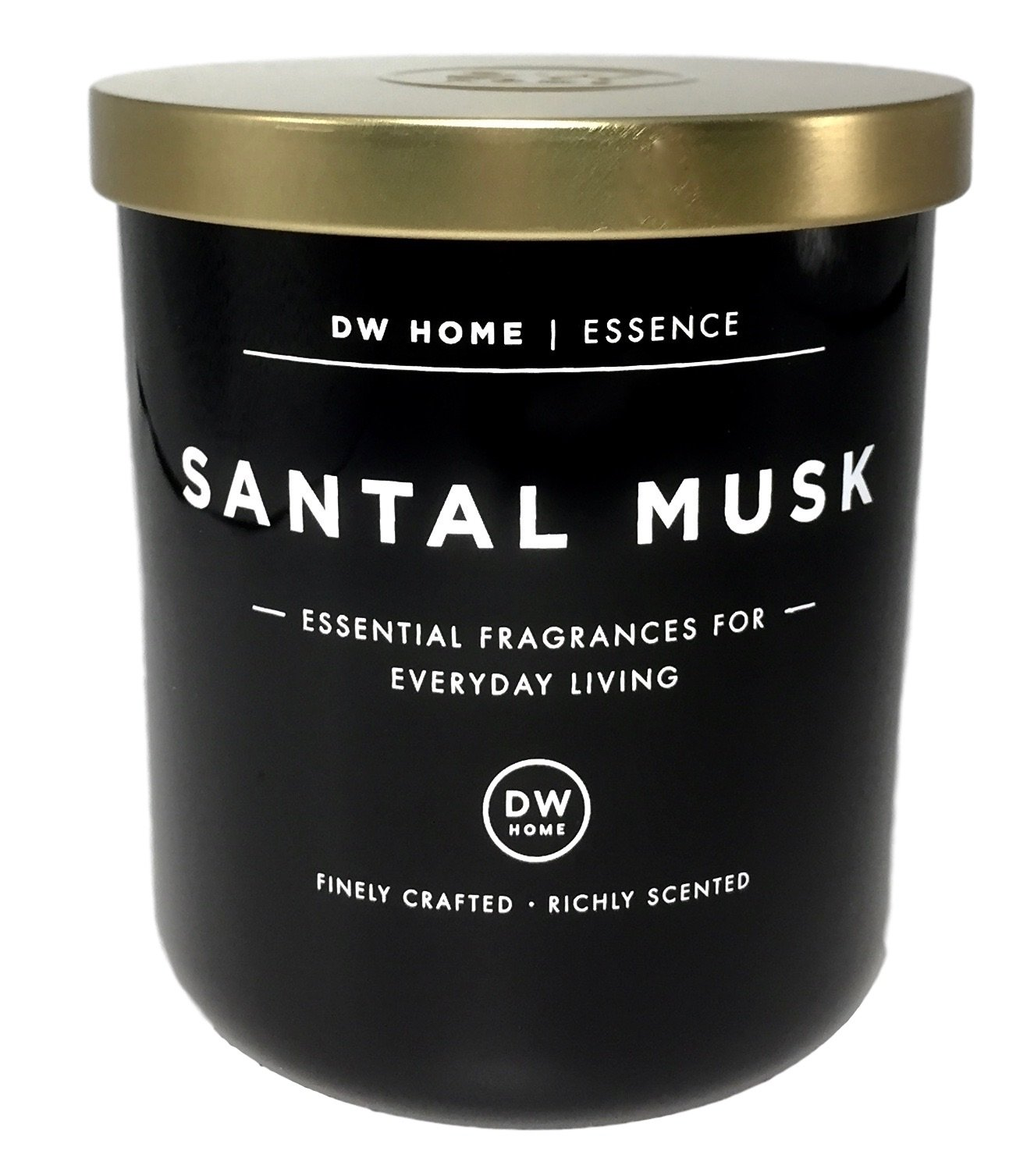 Dw Home Santal Musk Scented Soy Wax Blend Candle Essential Fragrances For Everyday Living 9OZ