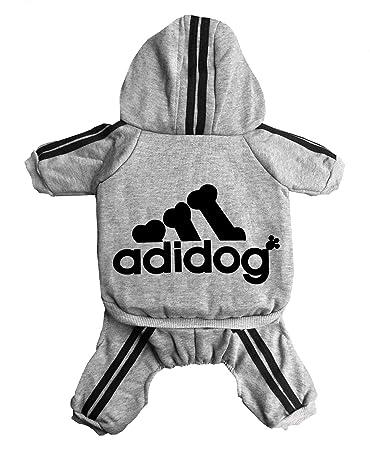 Trudz Pet Adidog Dog Hoodies, Rdc Pet Dog Sweater, 4 Legs Jumpsuit Warm Sweat Shirt, Cotton Jacket Coat for Small Dog Medium Dog Large Dog