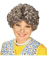 Granny Gray Old Lady Wig, Yo Mamma Nanna Madea Granny Grandmother