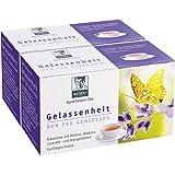 Apotheken-Tee Gelassenheit Lavendel Baldrian Melisse. Den Tag genießen, in der Nacht gut schlafen. Vorteilspackung 2 x 20 Btl (80g).Pharmazentralnummer: 09738486