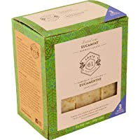 Crate 61 Eucamint (Eucalyptus & Peppermint) Soap 3 pack, 100% Vegan Cold Process, scented with premium essential oils…