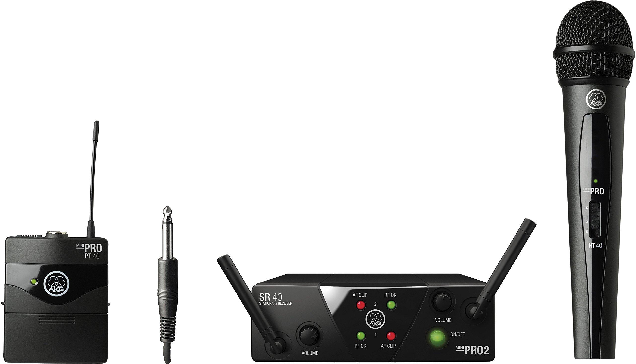 AKG Pro Audio MINI2MIX-US25AB Wireless Microphone System by AKG Pro Audio (Image #1)