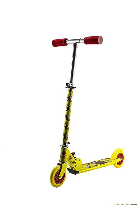 Buy Excel Motu Patlu 2w Scooter 1999 Via005 Yellow Red Online At
