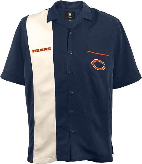 NFL Bowling Camisa - 300633-BEAR-XL, XL, Azul marino: Amazon.es ...