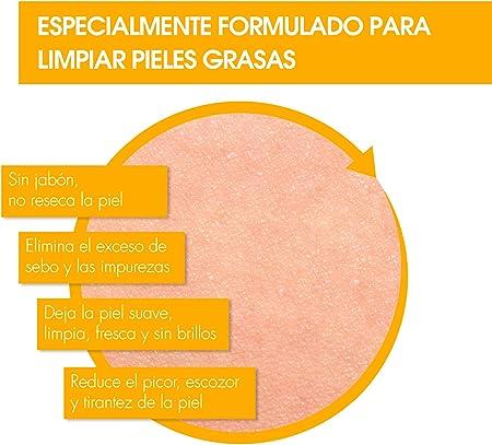 Bactopur Gel Limpiador Purificante Piel Grasa y Acné, 2 x 200 ml - Total : 400 ml