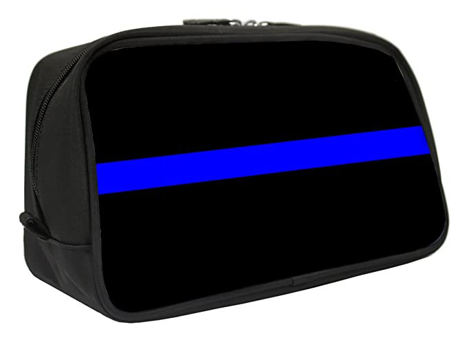 Snaptotes Thin Blue Line in Support of Police and Law Enforcement Travel  Toiletry Bag Shaving Dopp cea6a42dd7f