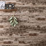 ウッドパネル ウッドタイル 腰壁 粘着式 壁に貼れる木材 ハッティー ヴィンテージブラウン 10枚入り Z3K