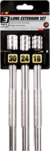 Performance Tool W38139 3/8-Inch Drive Long Extension Set, 3-Piece
