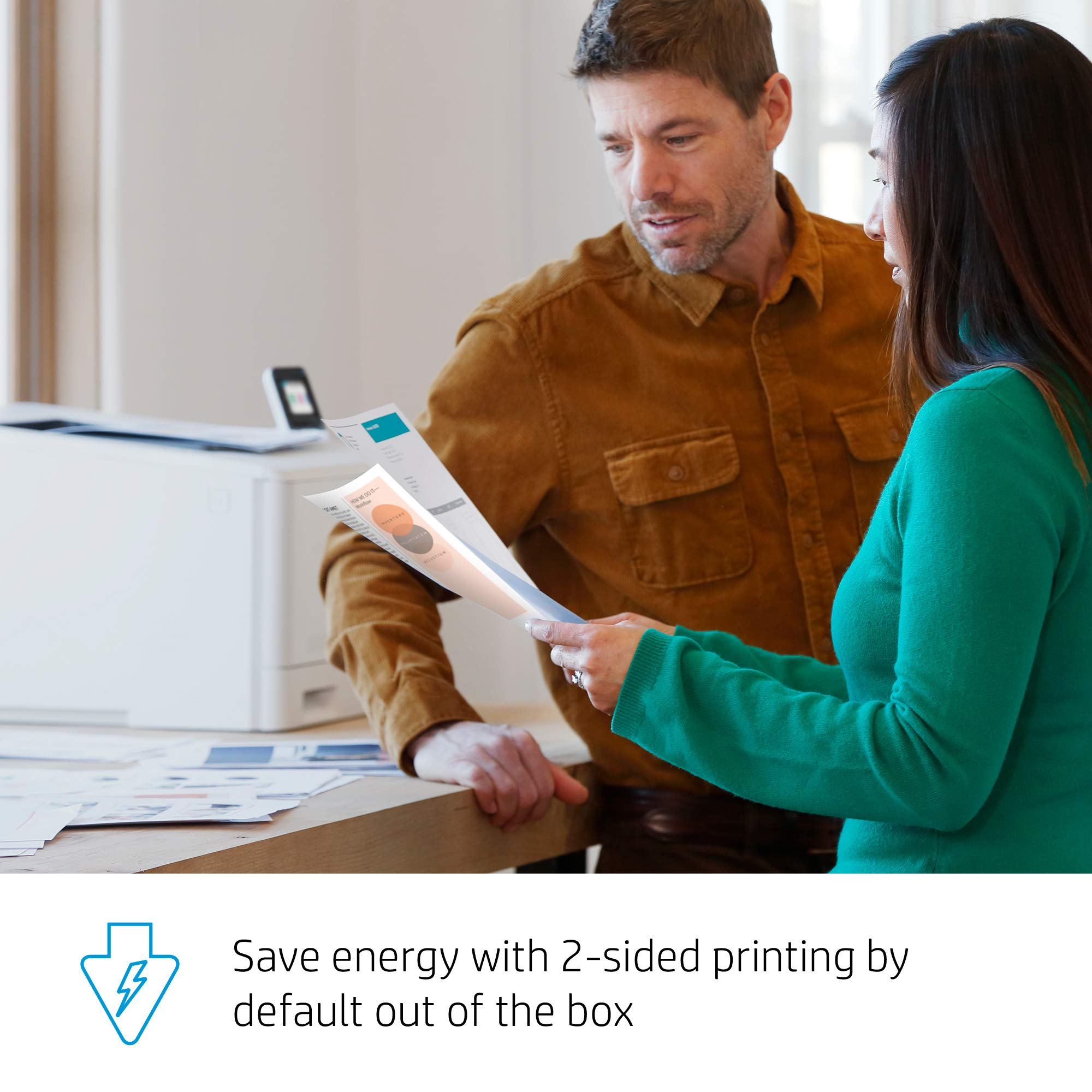 HP Color LaserJet Pro M454dw Printer (W1Y45A) by HP (Image #10)