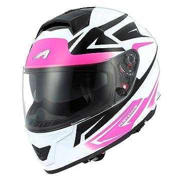 Astone Helmets Casco de Moto Integral de Fibra GT1000F, S