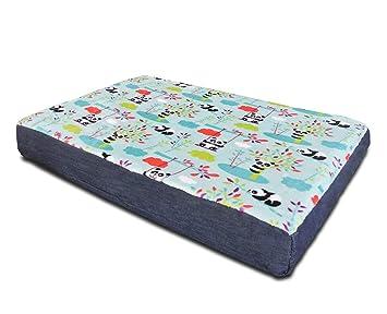 Baldiflex colchón Caseta Cama Cojín Suave para Perro y Gato Bubu con Memory Foam H 7 cm, 5 + 2 cm Memory: Amazon.es: Productos para mascotas