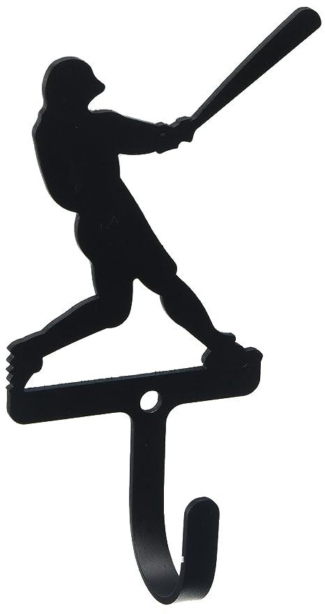 Amazon.com: 4.75 inch jugador de béisbol pared gancho ...