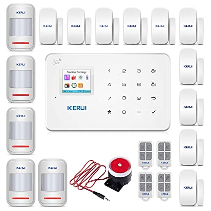 KERUI 8219 G Wireless Home alarma system-3g PSTN GSM Touch ...