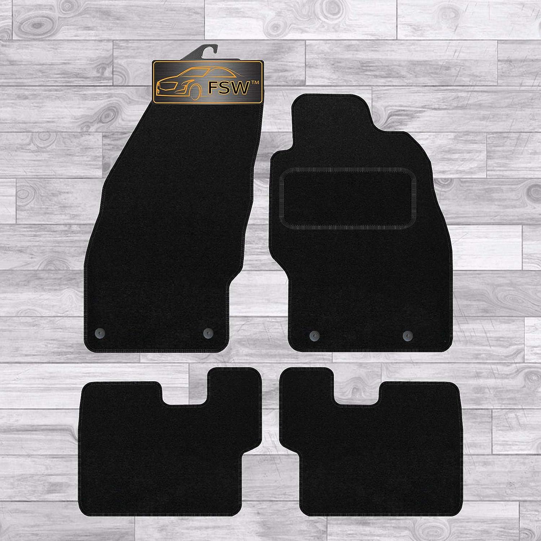 FSW Corsa D 2007-2014 Fully Tailored Classic Carpet Car Floor Mats Black