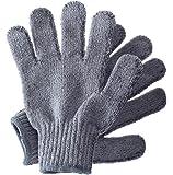 Hydrea London Carbonized Bamboo Exfoliating Gloves BCEG1