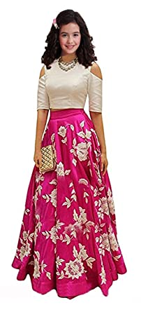 fb3c69601c8f3 Image Unavailable. Image not available for. Colour: Women Wed Kids Party  Wear ...