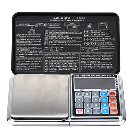 Trudged(TM) 1kg/0.1g Mini pesa Digital Scale Portable Calculator Weighing Weight