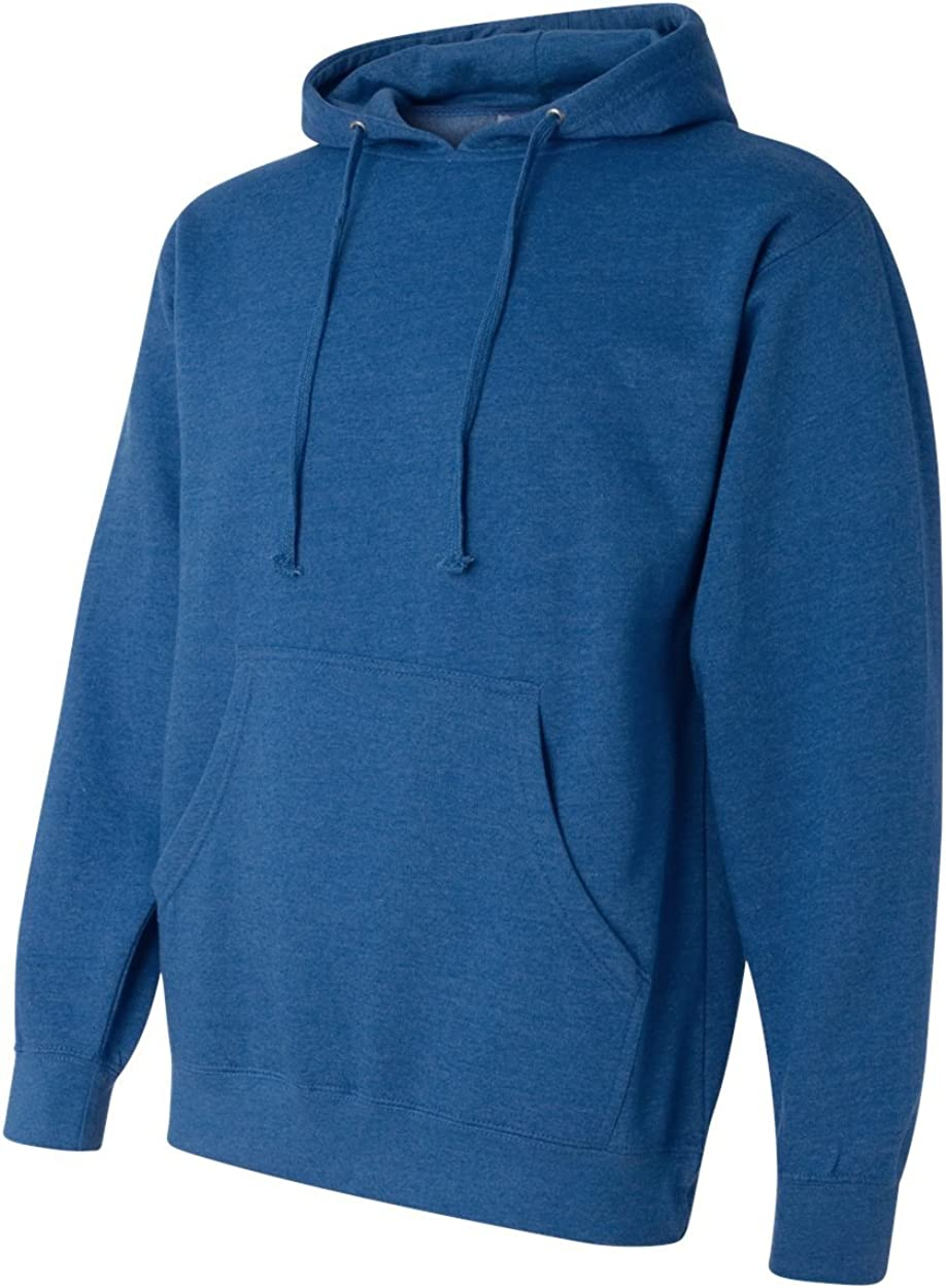 Midweight Hood Sweatshirt SS4500-Ryl Hth-LG Independent Trading Co