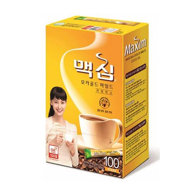 Maxim Mocha Gold Mild Coffee Mix - 100pks Dongsuh HAZC096860