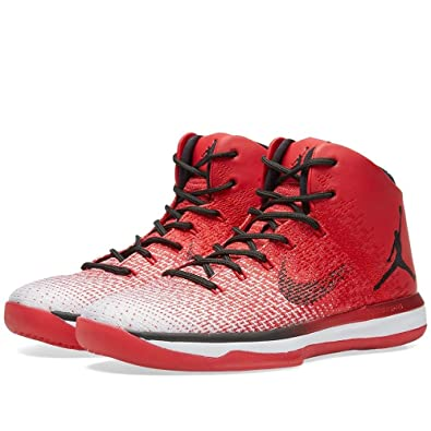 4c2583401cc Nike Mens Air Jordan XXXI Basketball Shoes Varsity Red Black-white 13 D(M)  US  Buy Online at Low Prices in India - Amazon.in