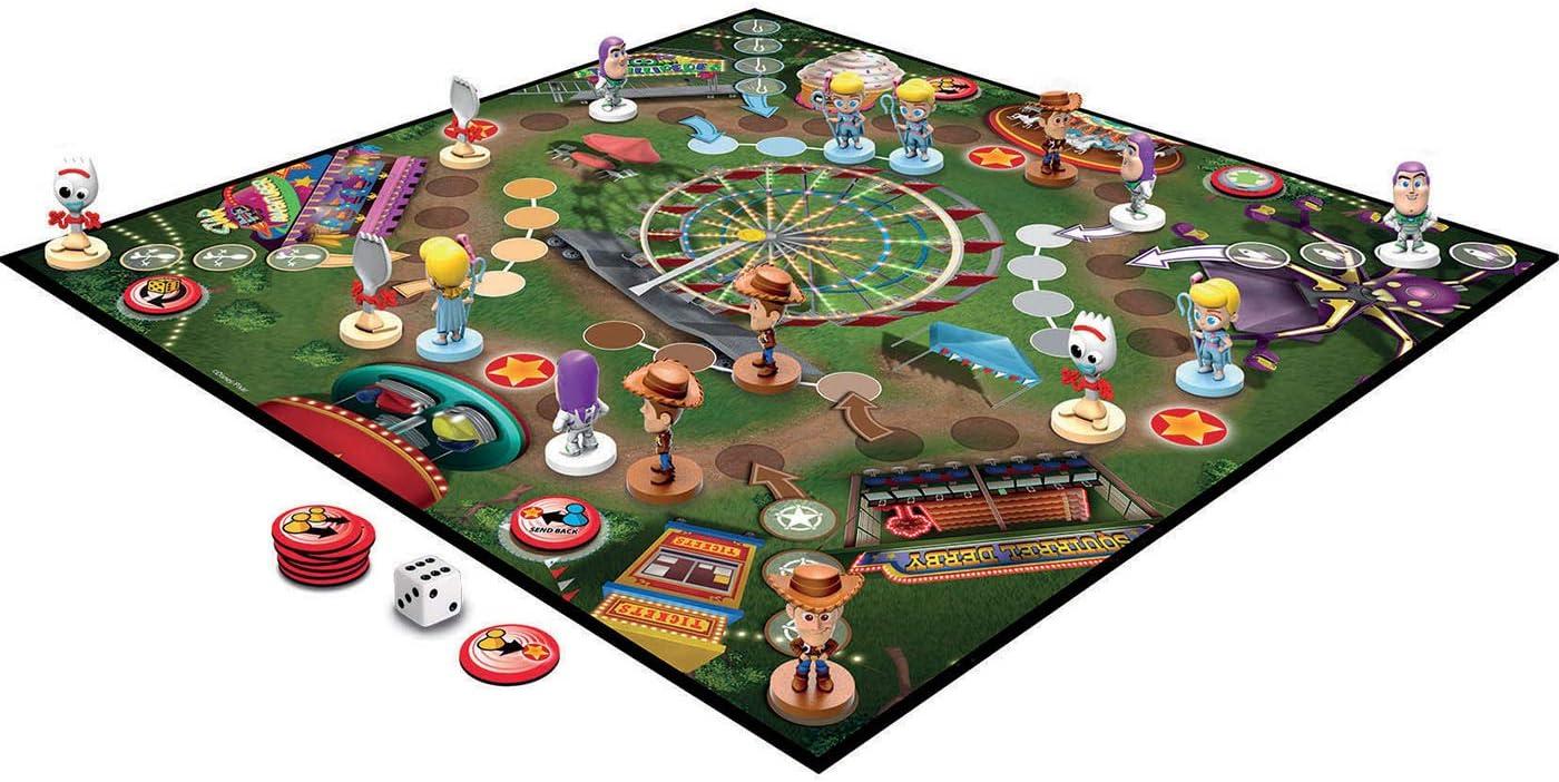 Educa-Parchís Ludo Toy Story con Figuras 3D de los Personajes, a Partir de 4 años (18514): Amazon.es: Juguetes y juegos