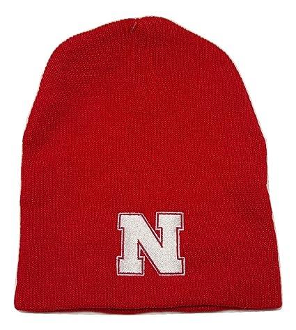 374f2285d6907c ... australia ncaa nebraska cornhuskers cuffless knit beanie cap choose  color red 78db6 63284