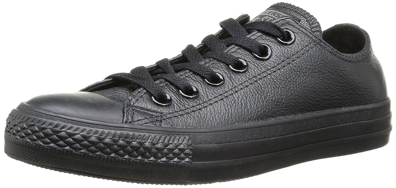 Converse Chuck Taylor All Star Leather Ox B000E9UPV6 4.5 D(M) US / 6.5 B(M) US|Black Nubuck