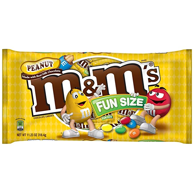 0d31334cd M&M Fun Size Peanut Candy, 318g: Amazon.in: Grocery & Gourmet Foods