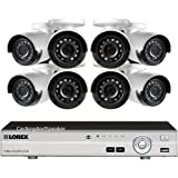Lorex By Flir 8 Channel 2TB MPX DVR with 8 IR Outdoor Night Vision Cameras