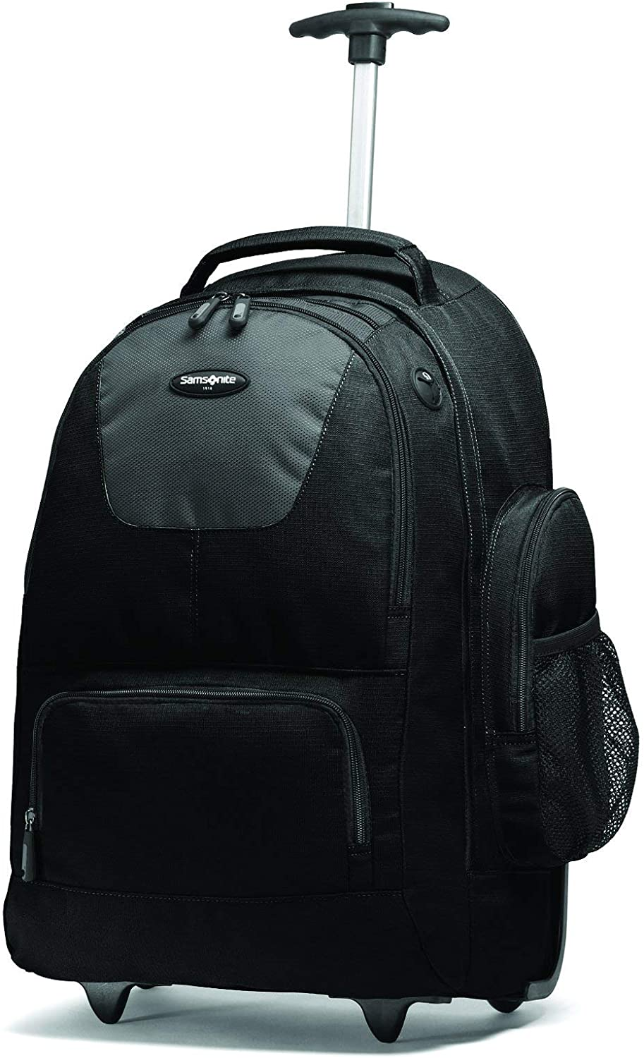 Samsonite Wheeled Backpack with Organizational Pockets, Black/Charcoal, One Size