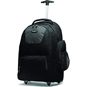 Samsonite Wheeled Computer Backpack Charcoal/Black