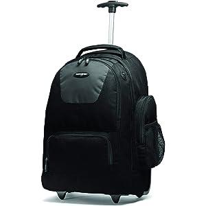 Samsonite Wheeled Computer Backpack Charcoal/Black