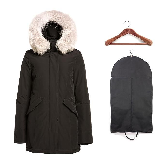 8458302618c8f6 Woolrich John Rich & Bros Women's Arctic Parka Black w/Cedar Hanger and  Garment Bag