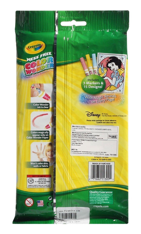 Disney princess mini coloring pages - Disney Princess Coloring Pages Crayola Amazon Com Crayola Color Wonder Mini Coloring Pages Disney Princess