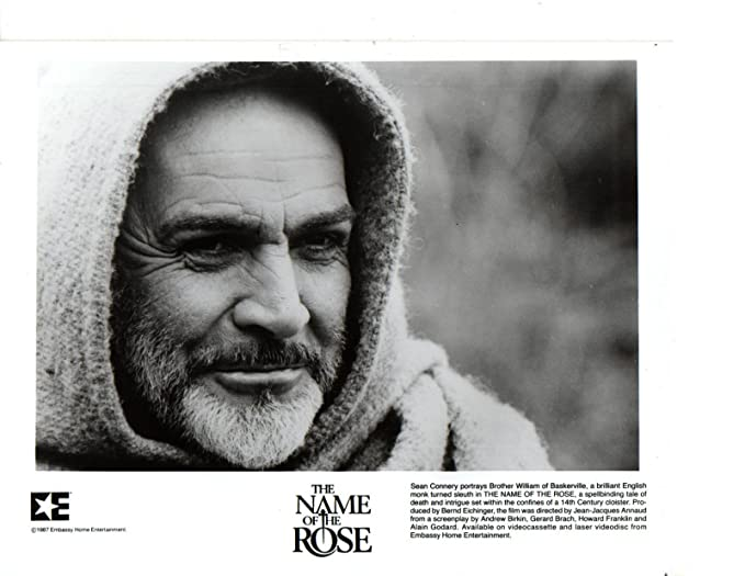 Sean Connery Name of the Rose Original 8x10 photo J8973 at