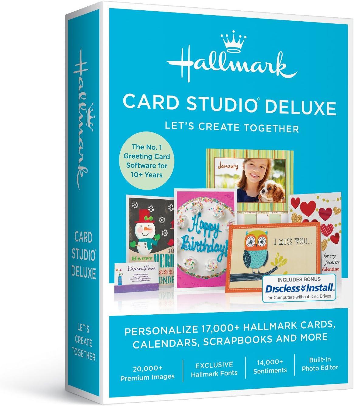 B01JHQXFWM Nova Development US Hallmark Card Studio Deluxe 2017 2017 - Old Version 7112bqvQG1L