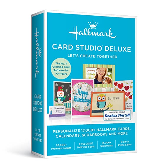 Amazon hallmark card studio deluxe 2017 hallmark card studio deluxe 2017 solutioingenieria Image collections