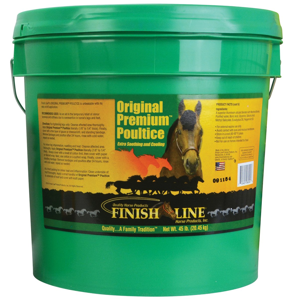 Finish Line Horse Products Original Premium Clay (45-Pounds) by Finish Line Horse Products