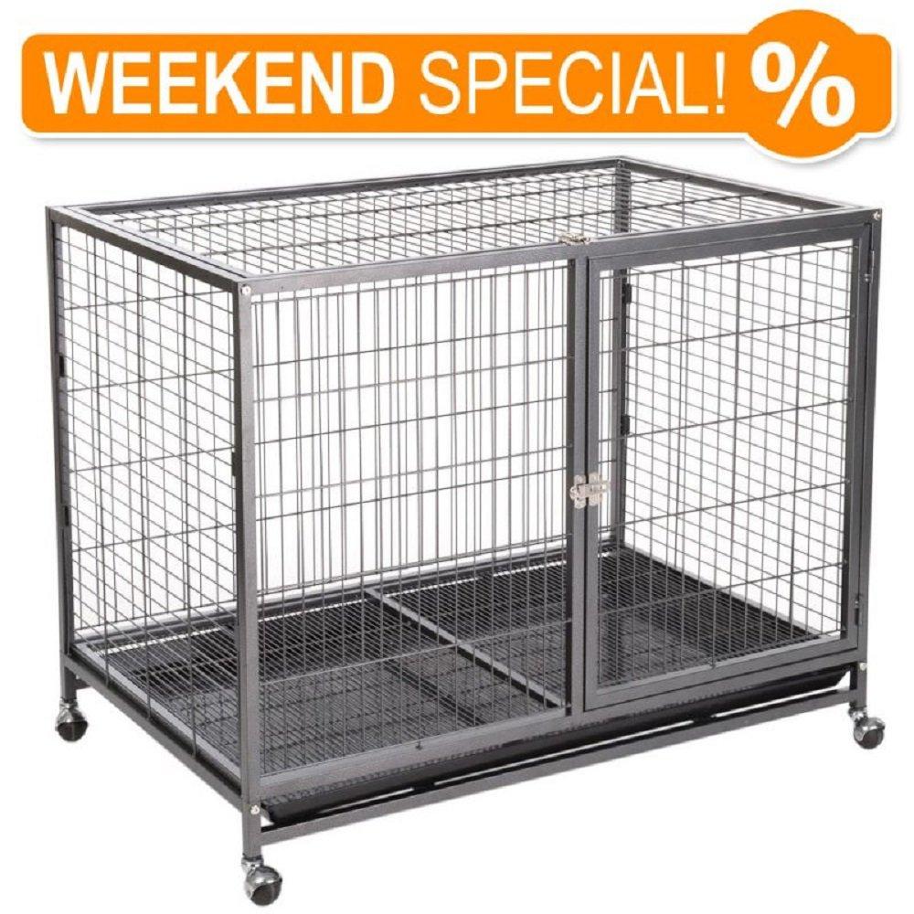 Cage d'intérieur pour chien Niche Tabby