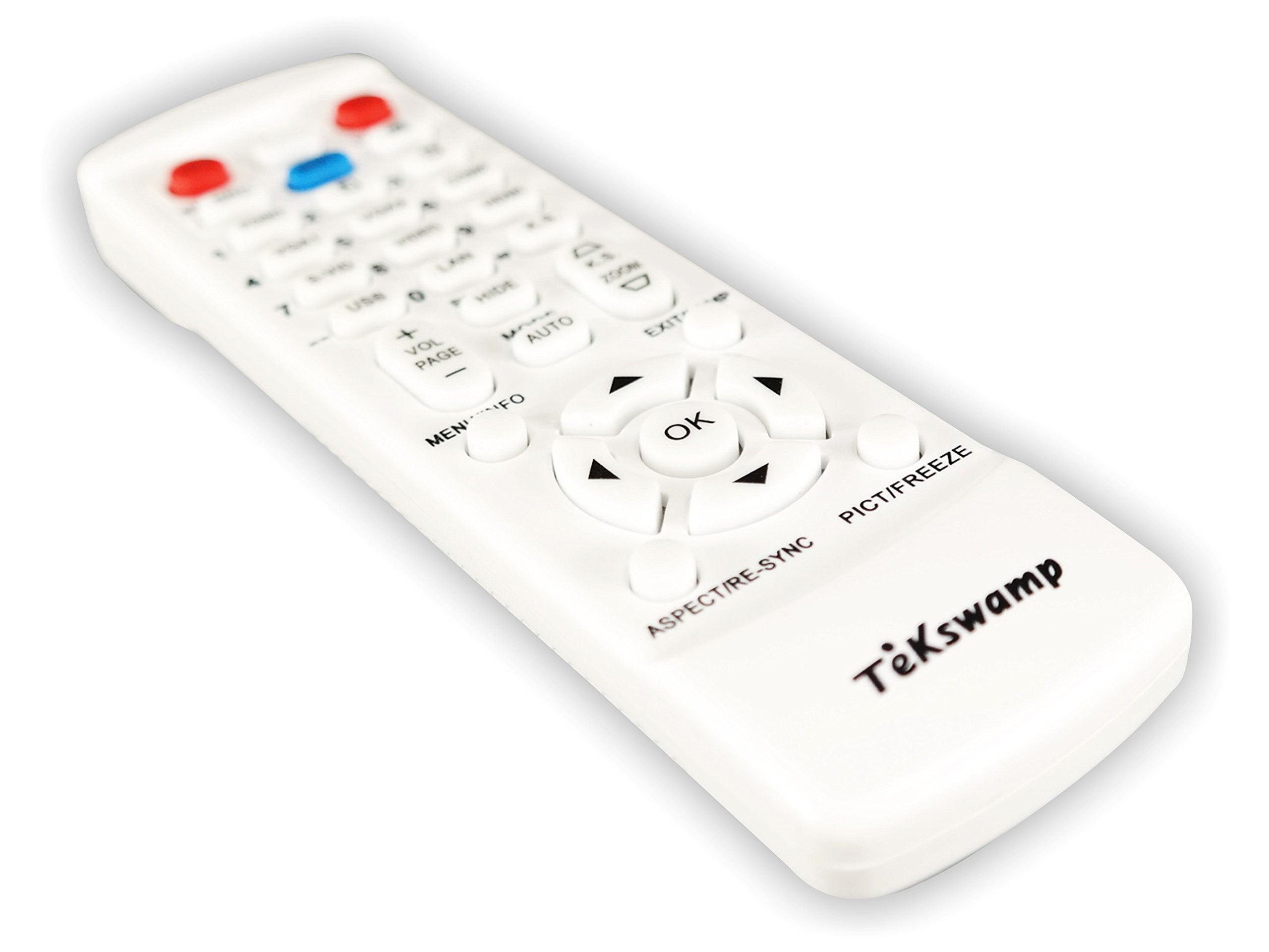Barco RLM-W8 TeKswamp Video Projector Remote Control (White) by Tekswamp (Image #2)